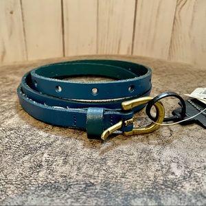 NWT - Banana Republic Skinny Leather Belt